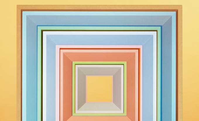 Jessica Eaton, cfaal 1104 (détail), 2018, impression au jet d'encre, 152.5 x 122 cm