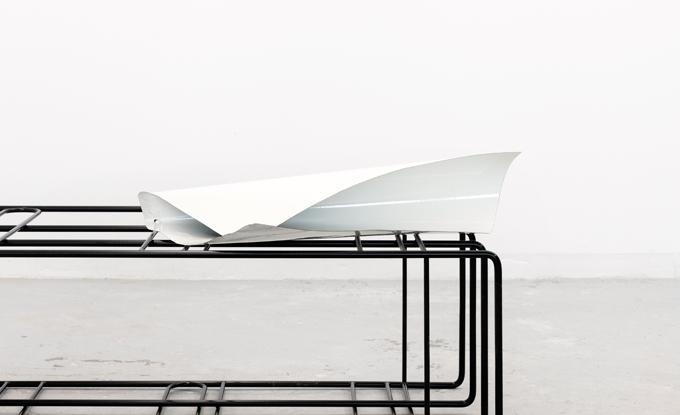 Marie-Michelle Deschamps, vue d'atelier. Photo : Maxime Brouillet