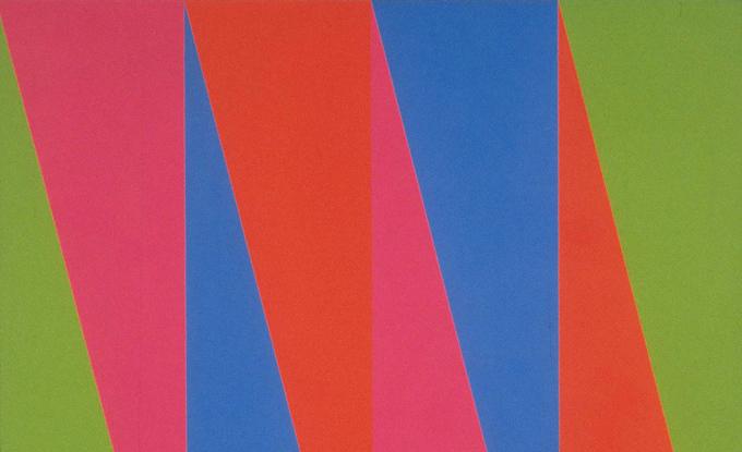 Guido Molinari, Sans titre, 1970-74