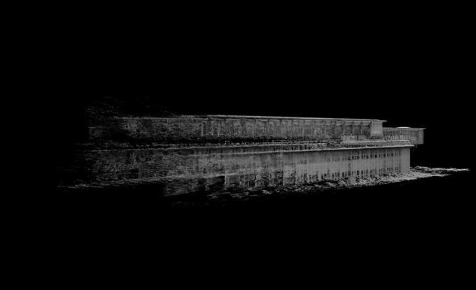Gagnon-Forest, Enka : Kanteen #2, photogrammétrie, image numérique, 2018, édition imprimée : 33 x 50cm