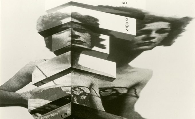 Valie Export, Stand up. Sit down, 1989 (étude). Permission de l'artiste et Center/Lentos Kunstmuseum Linz