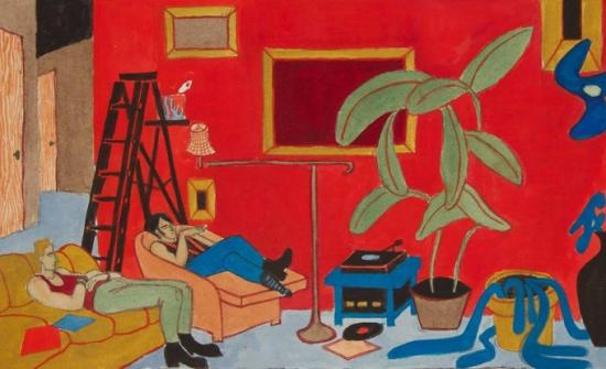 Yves Tessier, The Red Paint Job, 1994
